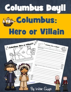 Students will decide if Columbus was a hero or villain in this activity.