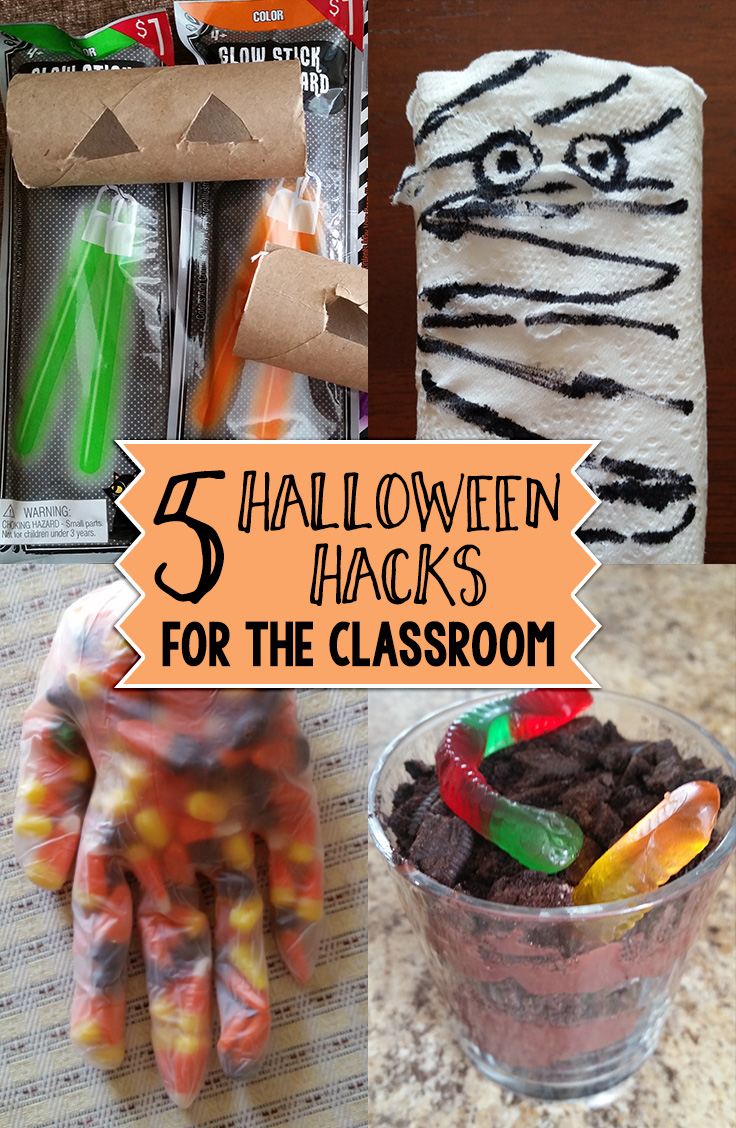 Halloween is approaching fast. Do you want this year to be the best ever when it comes to treats and decorations? We have come up with some Halloween Hacks to make your students' Halloween experience is the best ever.