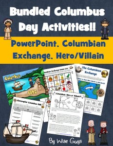 Get the Christopher Columbus bundle of activities for your classroom here.