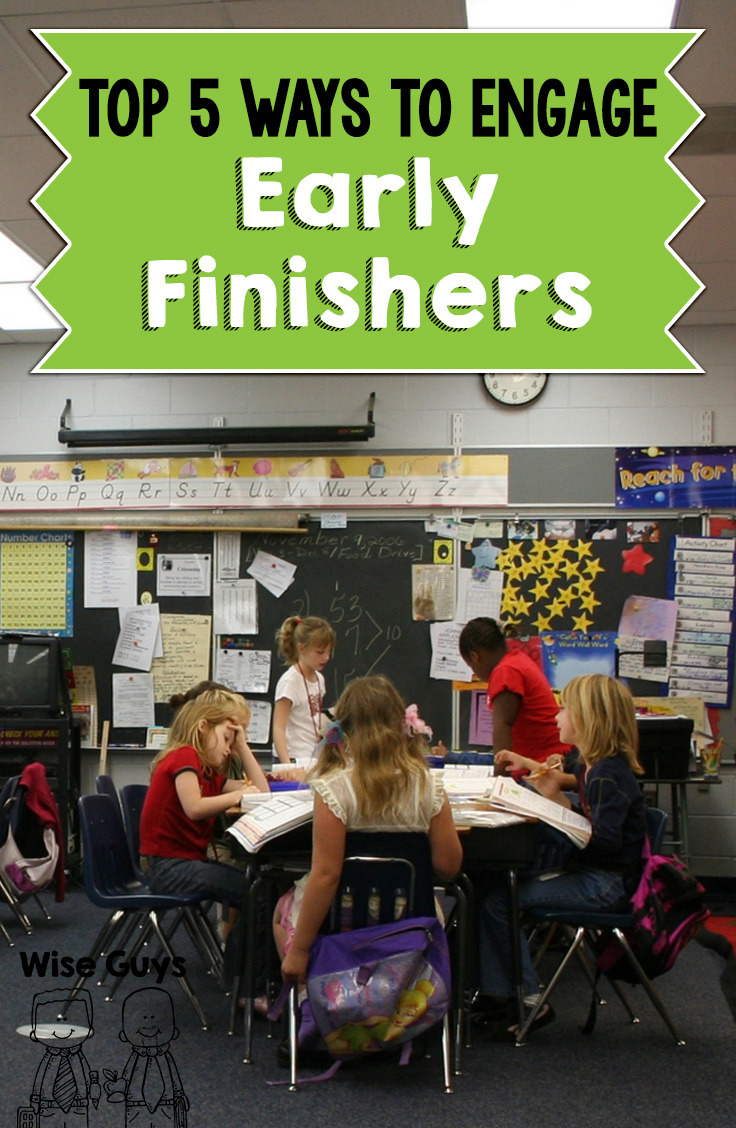 What is a teacher to do for those students that are craving to learn and do more? We have created our top 5 tips to engage early finishers and hope that these will help you provide those students with meaningful activities to do when they finish early.