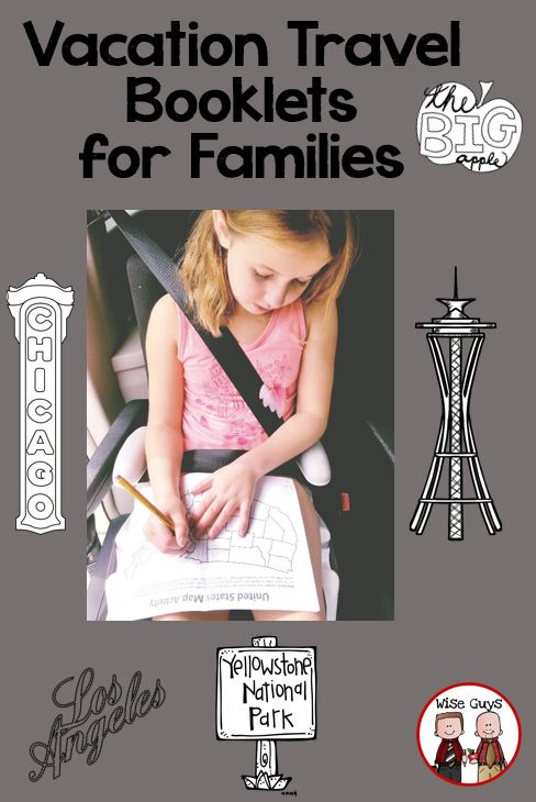 Vacation travel booklets are sure to be a hit on your next family trip.