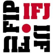 IFJ press card holder