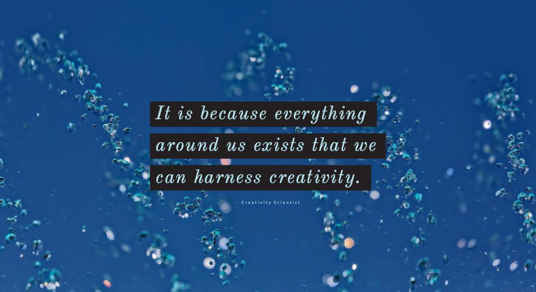 harness creativity with the history of creativity