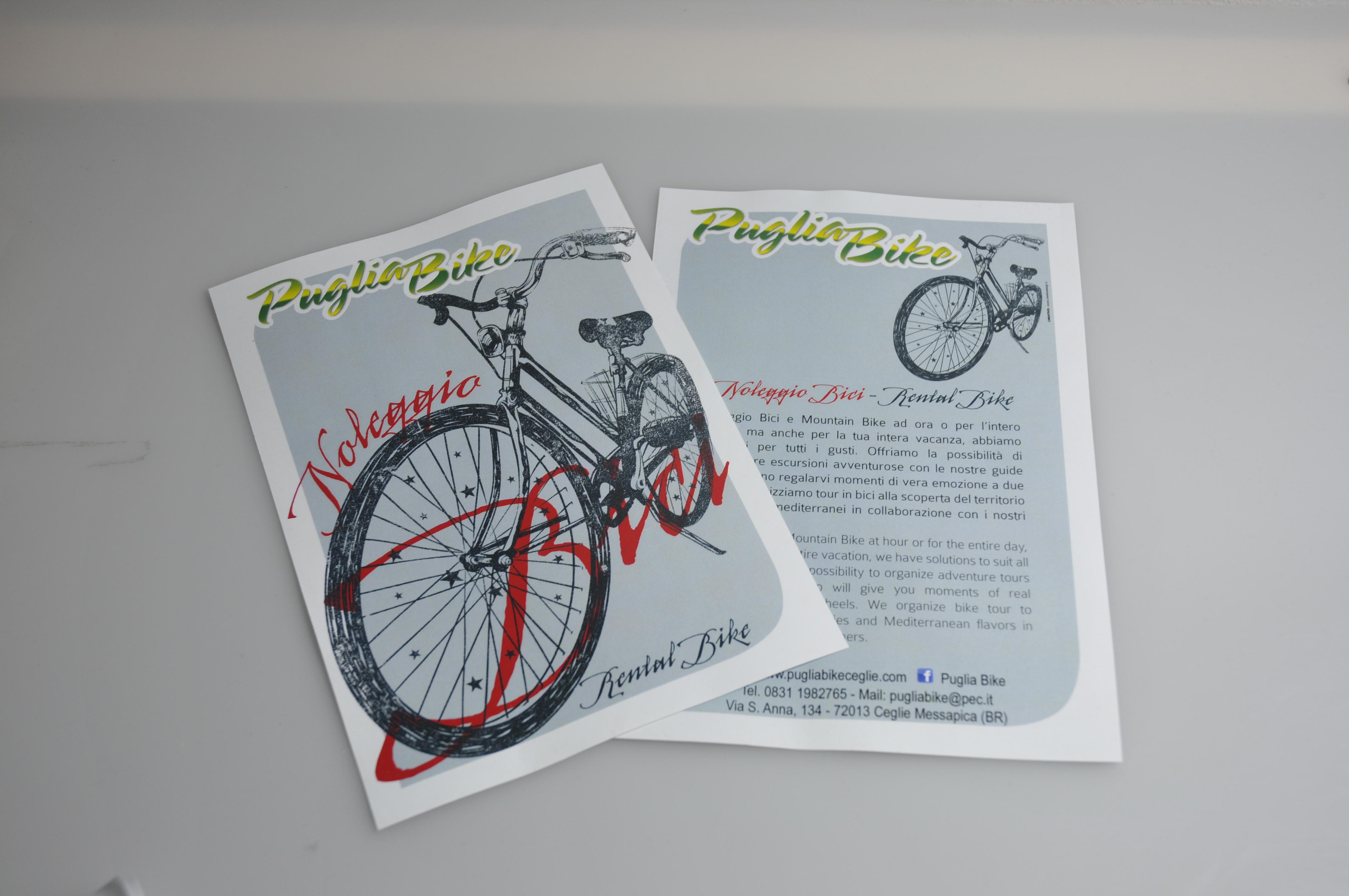 Volantino - Puglia Bike