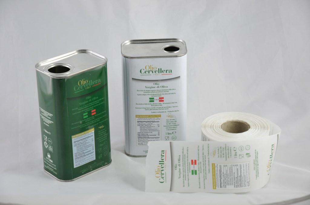 Immagine Packaging Olio Cervellera