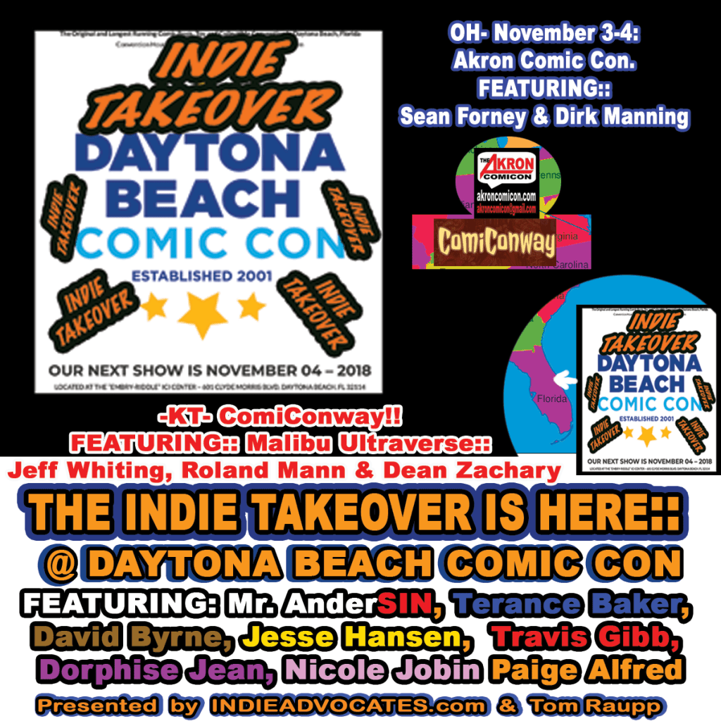 THE COMIC CON HIGHWAY WEEKEND FORECAST:: THE INDIE TAKEOVER is