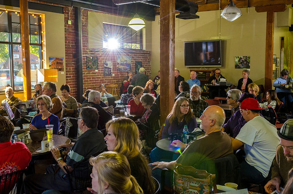 210 Patrons Enjoying Saturday Morning Jazz