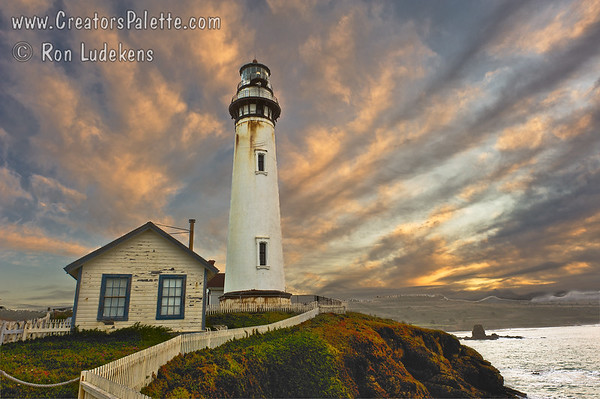 Pigeon Point Lighthouse at Sunrise