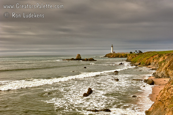 Pigeon Point Lighthouse - from the south