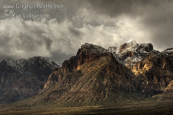 Storm over Red Rock Canyon