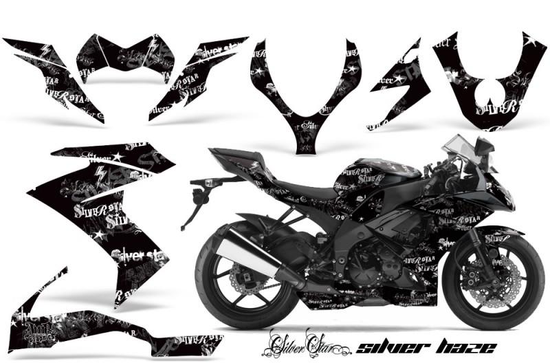 Kawasaki ZX10 Ninja 2008-2009 Graphics