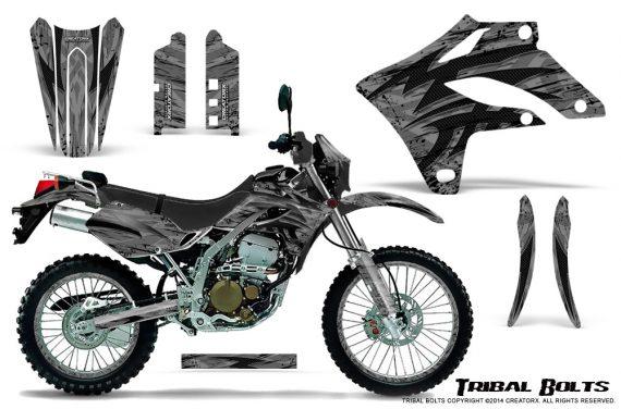 Kawasaki KLX250 2004-2007 Graphics