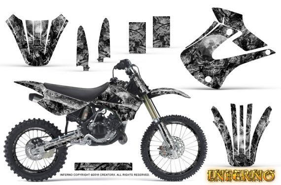 Kawasaki KX85 KX100 2001-2013 Graphics