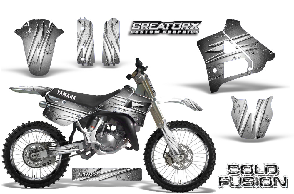 Yamaha-YZ125-91-92-CreatorX-Graphics-Kit-Cold-Fusion-White