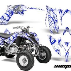 2009 Yamaha Raptor 700 Wiring Diagram 2016 Kawasaki Brute Force 750 2013 2018 Graphics Yfm700r Creatorx Kit Samurai Blue White Orange
