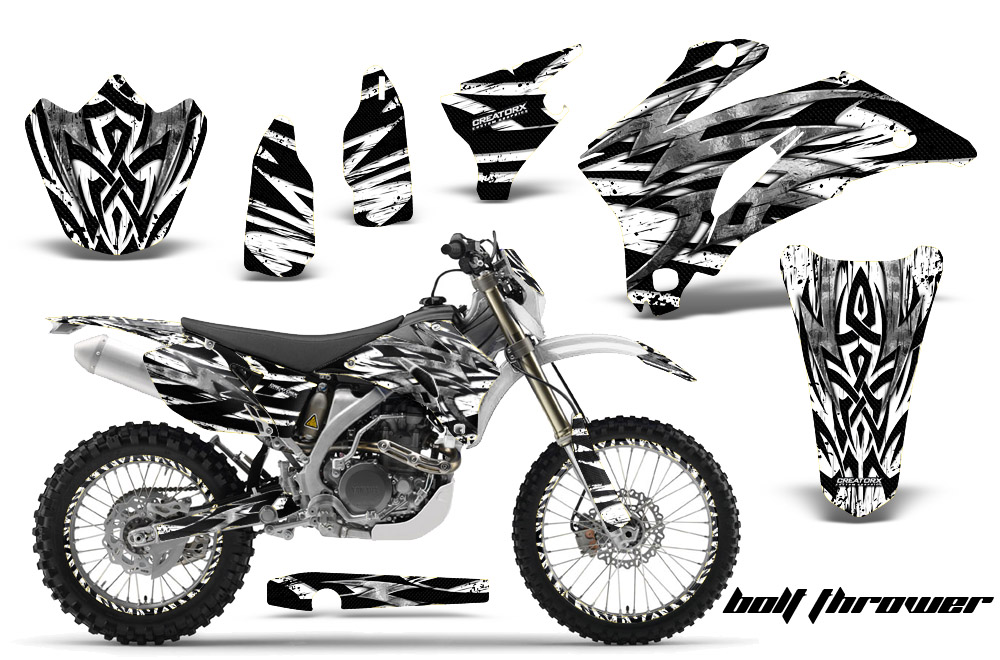 2005 Yamaha Wr250f Graphics Kit Satu Sticker