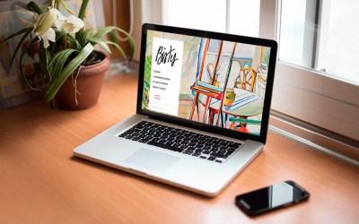 creation site internet bistes chateau de mauriac - cecile spadotto creatrice graphique Graphiste Tarn - Webdesigner Tarn