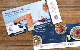 création flyer restaurant sur-mesure - énévie - cecile spadotto creatrice graphique Graphiste Tarn - Webdesigner Tarn