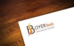 création logo sur-mesure - BOYER BOIS - cecile spadotto creatrice graphique Graphiste Tarn - Webdesigner Tarn