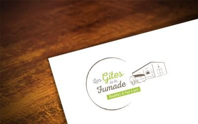 création logo GITE sur-mesure - cecile spadotto creatrice graphique Graphiste Tarn - Webdesigner Tarn