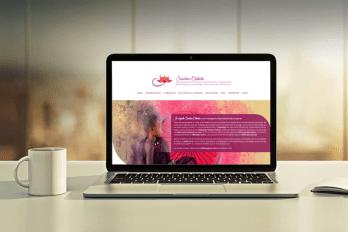 création site internet sur-mesure - site internet one page - site internet réflexologue thérapeute - cecile spadotto creatrice graphique Graphiste Tarn - Webdesigner Tarn