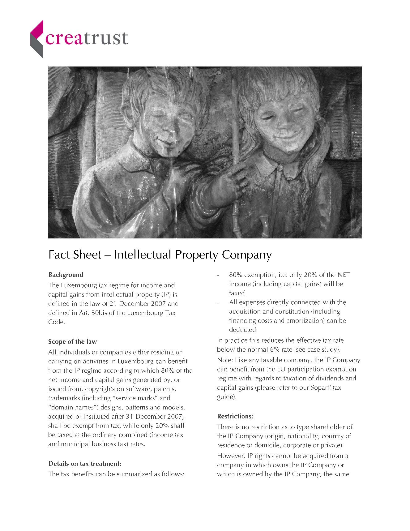 Brochures and Factsheets