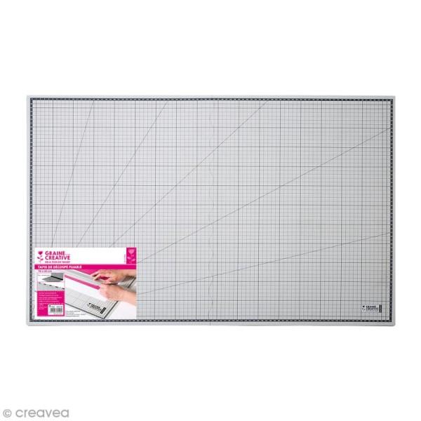 tapis de decoupe pliable 45 x 60 cm