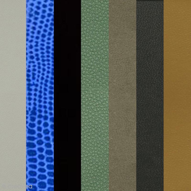 Papier Skivertex Simili Cuir Feuille Adhsive 30 X 30 Cm