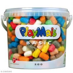 Seau PlayMais de 5L - Assortiment de couleurs - Photo n°1