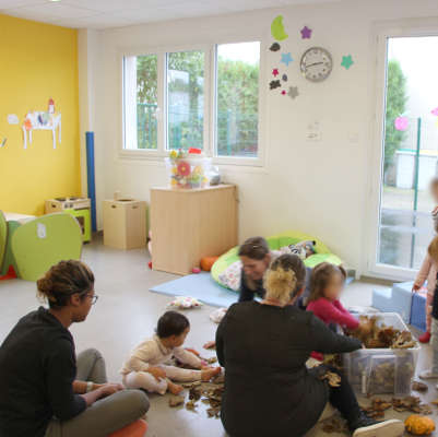 Equipe crèche le Port Marly