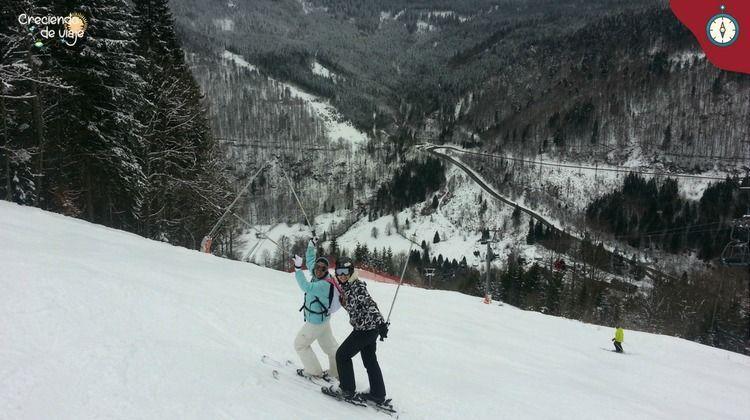 esqui en la selva negra