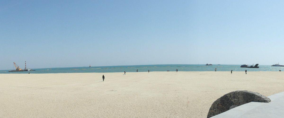 haeundau beach