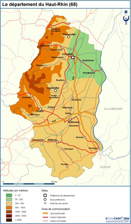 Alto Rin - ruta de los vinos alsacia