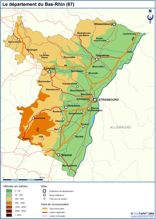 Bajo Rin ruta de los vinos Alsacia