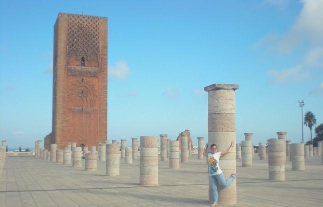 rabat torre hasán con Flavia