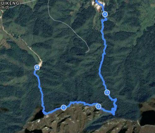 comienzo ruta senderismo Jiankou