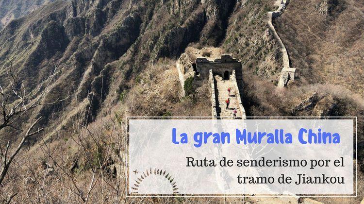 muralla china Jiankou