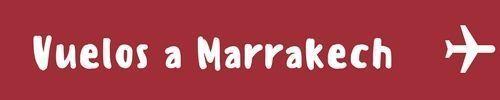 vuelos a Marrakech