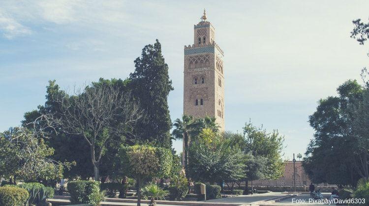 mezquita de la koutobia marrakech
