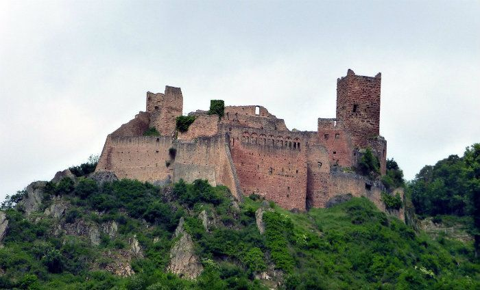 Alsacia - castillo de Ulrich