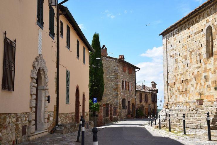 Cortona, localidad de la Toscana italiana