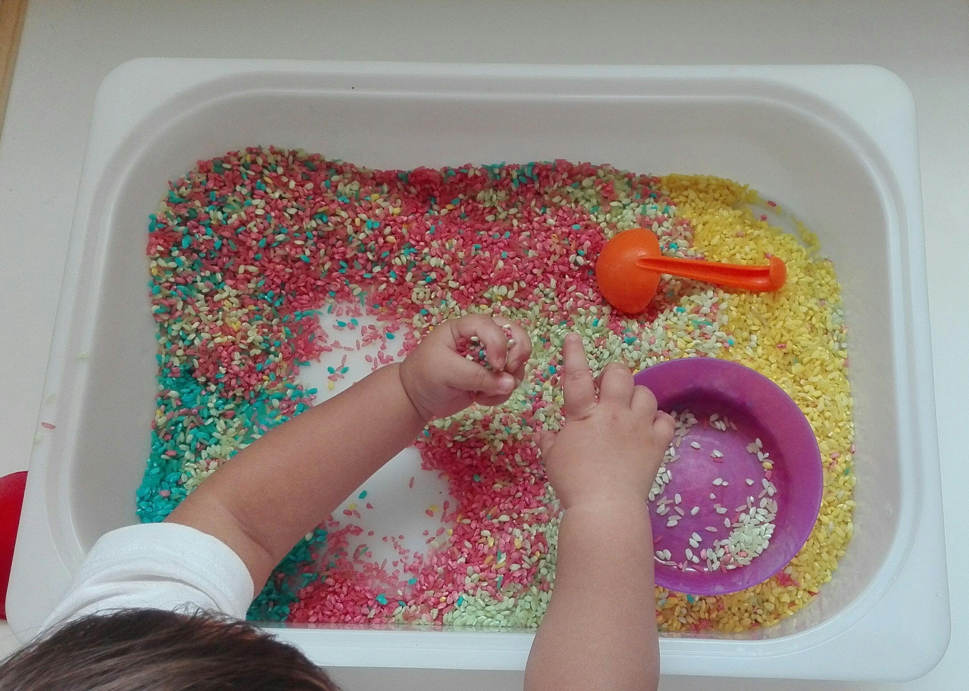 7 ideas para crear bandejas sensoriales