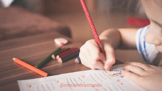 control de esfínteres y escolarización