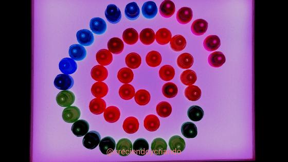 mandala mesa luz