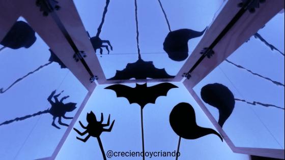 Halloween mesa de luz