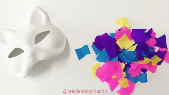 Máscara de Carnaval DIY 2_creciendo y criando