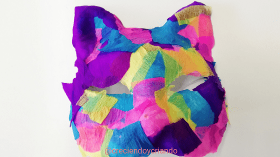 Máscara Carnaval DIY 5_creciendo y criando
