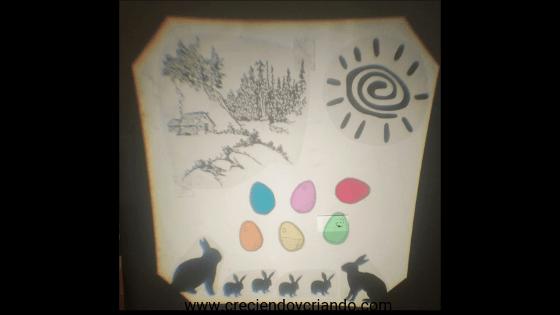 actividades de pascua pascua waldorf mesa luz 1