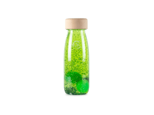 Botella sensorial FLOAT GREEN Petit Boum