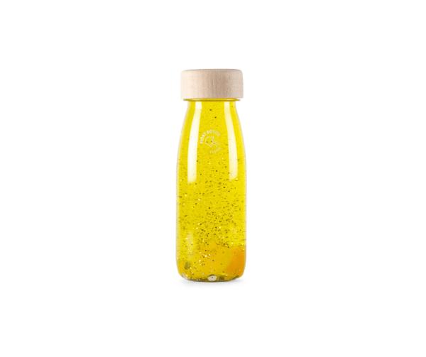 Botella sensorial FLOAT YELLOW Petit Boum
